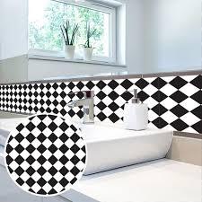 stickers carreaux cuisine noir et withe grille stickers carrelage cuisine salle de bain