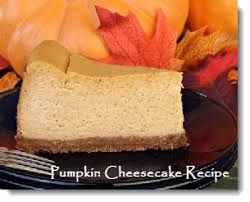 recipe for pumpkin cheesecake not just for thanksgiving