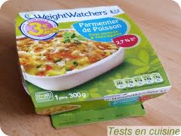 plat cuisiné weight watchers parmentier de poisson weightwatchers tests en cuisine