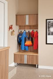 los angeles garage cabinets lux garage closet custom garage boot bench