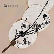 Chinese Fan Wall Decor by Still Life Subject Chinese Fan Decor Home Wall Paintings With