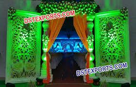 wedding backdrop panels indian wedding peacock fiber panel dstexports