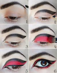 glimfeather eyes check colors of costume with costumer eye makeup tutorial