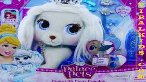 Pumpkin Palace Pet Plush by Disney Princess Palace Pets Pamper Me Pretty Pumpkin Toys