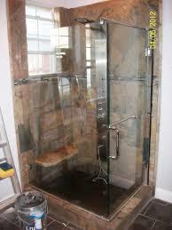 Sliding Glass Shower Door Handles by Bathroom 2017 Astounding Slate Frameless Sliding Glass Shower