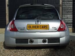 clio renault v6 renault clio renaultsport v6 3 0 255 mark 2 oliver cars ltd