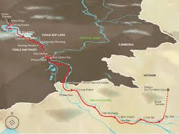 Mekong River Map Mekong River Cruise 7 Nights Siem Reap To Saigon Aqua Expeditions