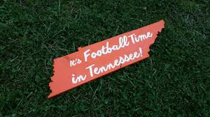 Tennessee Vols Home Decor University Of Tennessee Wood Sign Ut Vols Ut Football Sign