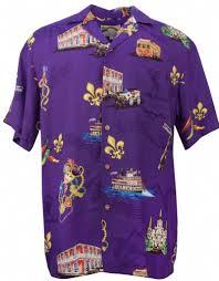 mardi gras tshirt mardi gras mens hawaiian aloha shirt in purple mens hawaiian