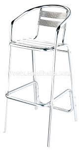 tabouret de bar aluminium 10 avec et bois prix achat vente 700x700