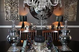 Halloween Decor Home by Silver And Black Halloween Decor Ideas Meredith Ehler
