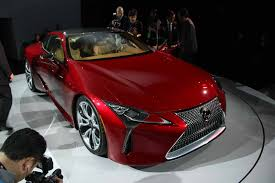 lexus supercar hybrid lexus lc hybrid to debut early march