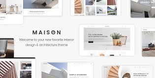 Portfolio Interior Design Maison A Modern Theme For Architects And Interior Designers By