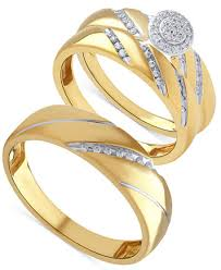 ring set beautiful beginnings diamond halo engagement ring set for and