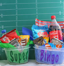 super bowl party game and prize ideas super bowl commercial bingo