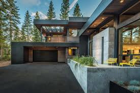 spectacular mountain modern family home in martis camp mountain