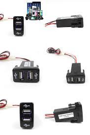 lexus rx330 usb visit to buy car 12v to 5v 3 3a dual usb ports dashboard mount