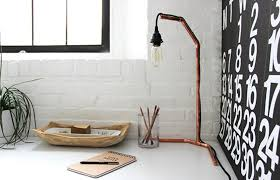 Plumbing Pipe Floor Lamp by Make Your Own Stunning Minimalist Copper Lamp Verily