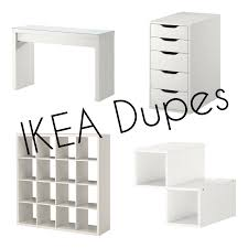 laura elizabeth ikea furniture and storage dupes hoooome
