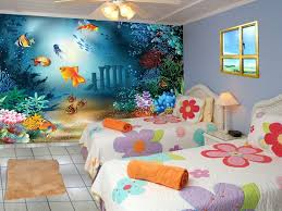 ideas kids bedroom fancy kids bed level with green wall and