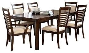 standard furniture avion 8 piece dining room set in cherry