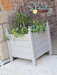 Homemade Planter Boxes by Best 25 Diy Planter Box Ideas Only On Pinterest Garden Planter