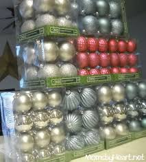 Half Price Christmas Ornaments by Holiday Decor On A Dime