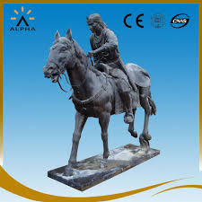Horse Statues For Home Decor Life Size Warrior Statues Life Size Warrior Statues Suppliers And