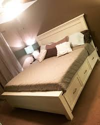 White Storage Bed Ana White White King Size Storage Bed Diy Projects