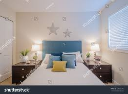 Beautiful Interior Design Beautiful Modern Home Hotel Bedroom Interior Stock Photo 138652376