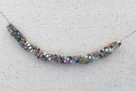 bead rope necklace images Easy spiral stitch rope jpg