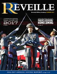 reveille summer 2017 by riverside military academy issuu