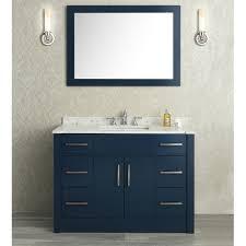 Dark Blue Bathroom Ideas by Modern Navy Blue Bathroom Vanity A 740141192 For Design