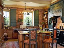 kitchen brick kitchens design european farmhouse kitchen brick