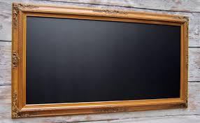 dining room chalkboard large oak framed chalkboard dining room decor magnetic