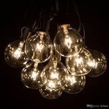 100 ft long christmas lights 100ft globe string lights g50 100 clear globe bulbs 220 110v black
