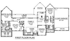 Floor Plan Elevations by Brookhaven Multi Generational Plans Luxury House Plans