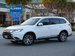 mitsubishi outlander 2016 review review mitsubishi outlander redeems itself on florida road trip