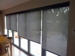 electric blinds look great on all bifold doors window treatments