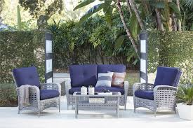 4 Piece Wicker Patio Furniture - cosco outdoor products cosco outdoor living 4 piece lakewood