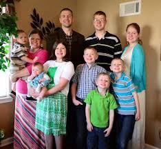 large family living raising arrows