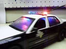 toy police cars with working lights and sirens for sale custom diecast 1 18 scale ford crown vic texas state trooper police
