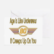 80 year old greeting cards cafepress