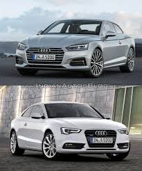 audi a5 2016 redesign 2016 audi a5 coupe vs 2012 audi a5 coupe in images