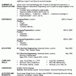 Resume Examples Microsoft Word Pleasant Design Resume Examples Word 12 Free Template For