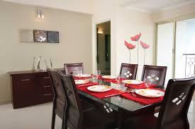 decorating elegant dining room design by interdesign with dark elegant dining room design by interdesign with dark wood dining table and parson dining chairs plus cozy berber carpet