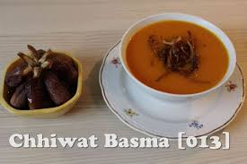cuisine de basma chhiwat basma 013 soupe de potiron شربة الكرعة الحمراء