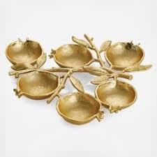 michael aram gold pomegranate ornament 49 liked on polyvore