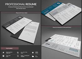 Resume Features 20 Professional Ms Word Resume Templates With Simple Designs