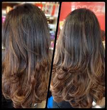 Frisuren Lange Haare Vorne Gestuft by Die Besten 25 Stufenschnitt Lange Haare Ideen Auf
